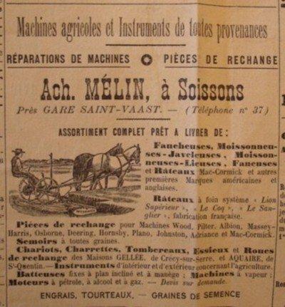 Publicité 1904