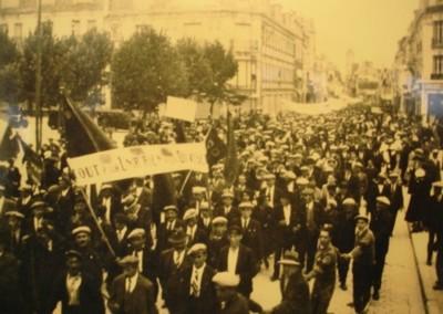 Défilé rue St Martin à Soissons