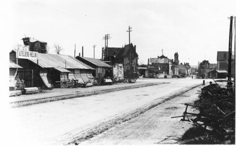 Les ateliers en 1900 avenue de la porte de CROUY