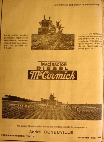 Le concurent  André Deneuville 19-02-1938